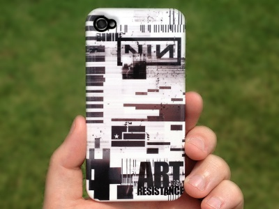 Custom-designed Nine Inch Nails iPhone Case iphone design iphone case case ios apple graphic design grunge nine inch nails nin