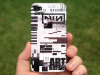 Custom-designed Nine Inch Nails iPhone Case