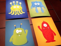 Little Monsters Prints!