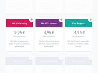 Plans & Pricing :: Work in Progress