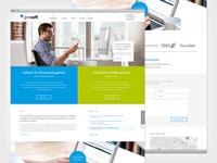 Webdesign for prosoft