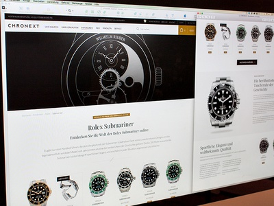 E-Commerce Shop for luxury watches