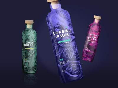Gin Packaging & Branding Concept v2