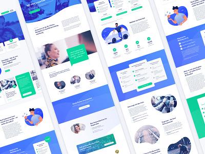UI Design / Portal / Startup duotone illustration startup web landing landingpage website portal marketplace webdesign ui design ui  ux ui