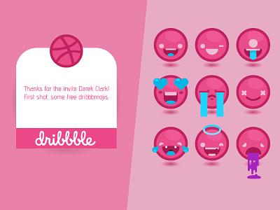 First Shot 800 600 freebie ai free ai ai freebie illustrator dribbble emojis dribbble emojis first shot