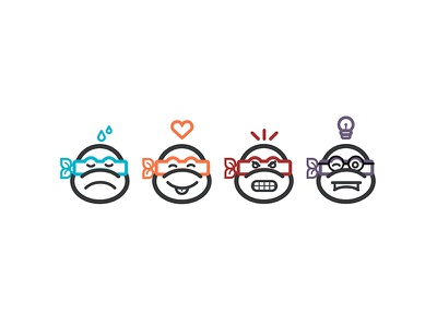 TMNT Icons turtles free iconset icon tmnt icons assembly app tmnt
