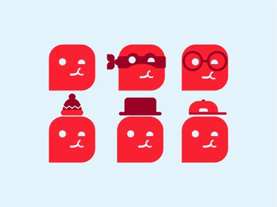 Choohoo Mascot free logo emoji smiley icon illustrator mascot freebie