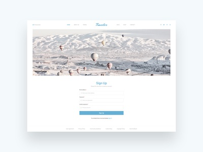 Daily Ui | 001 Signup