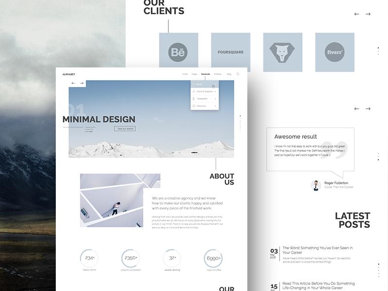Custom Website Design for Axisway (Website Development Agency) design agency user interface website interface website layout minimal design web design website