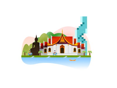 Bangkok Illustration