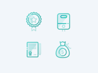 Custom icon set for VAILLANT
