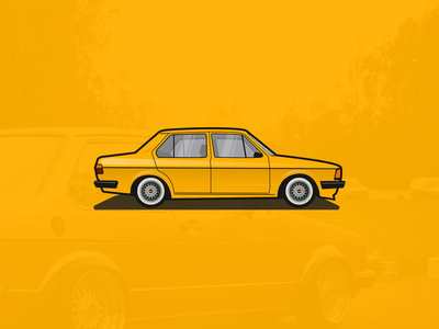 Jetta Mk1 illustration