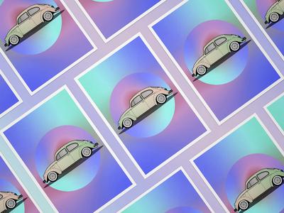 Volkswagen Kaefer Poster