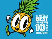 Running Pineapple!
