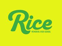 Rice High School Logo