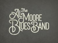 Al Moore Blues Band Logo