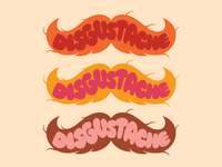 Disgustache Logo Color Options