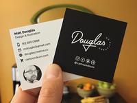 Douglas Creative Business Cards