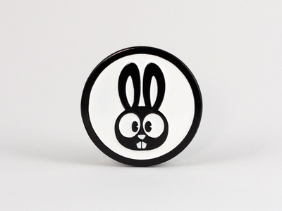 Russell the Rabbit Lapel Pin