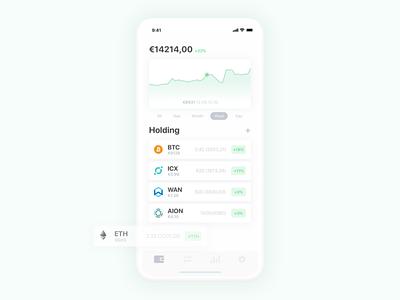 Crypto wallet app 🚀 iphone x bitcoin sketch ios wallet app crypto
