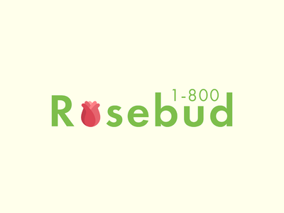 #ThirtyLogos Day 06 - 1-800 Rosebud
