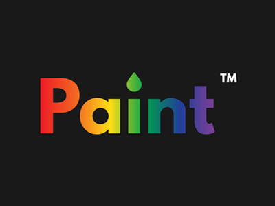 #ThirtyLogos Day 09 - Paint gradient brush thirtylogo logo design challenge thirty logos paint logo