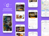 Gastronaut App Design