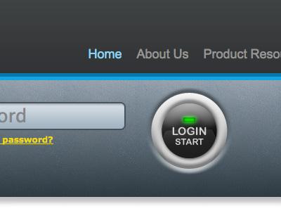 Start your engine login button login button round light led start password navigation push