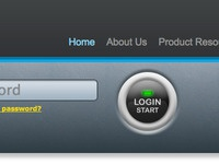 Start your engine login button