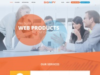 Signify Web Layout