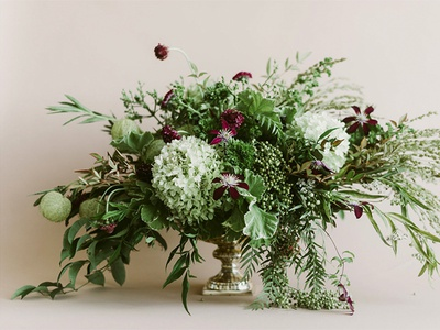 November in Bloom blush florist floral studio photo styling product photography art direction