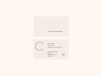 Coming Soon stationery type logo business card identity