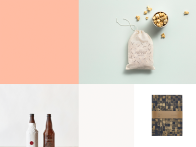 New Year. New Look.  packaging squarespace styling art direction photography brand refresh website