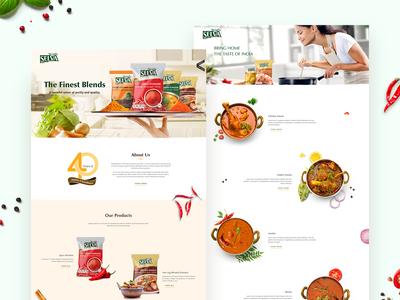 FMCG - Website Design