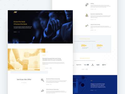 Human Resource Management - Website Design