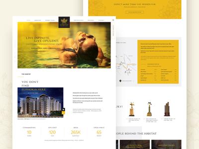 Deccan Habitat - Website Design