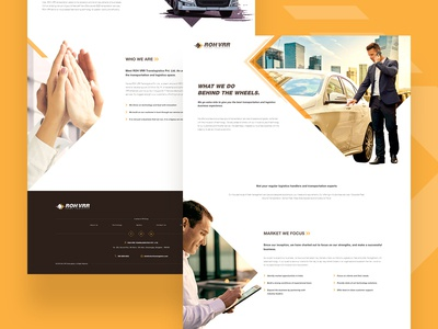 ROH VRR Translogistics - Website Design