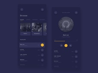 Music Player App - UI Design