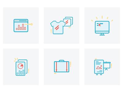 Design skill icon set
