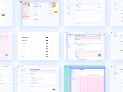 MessageBird Dashboard Library library states type interface processes design systems design ui atomic design dashboard design system