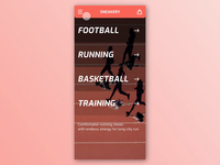 Adobe XD Playoff: A sneaker store prototype