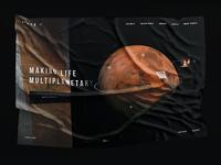Space X - web site