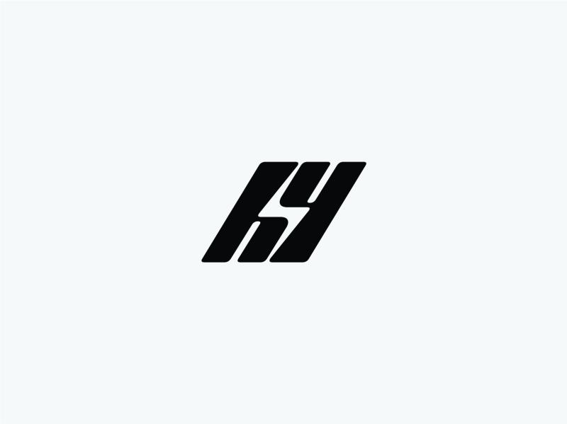 H letter+Y letter+bolt