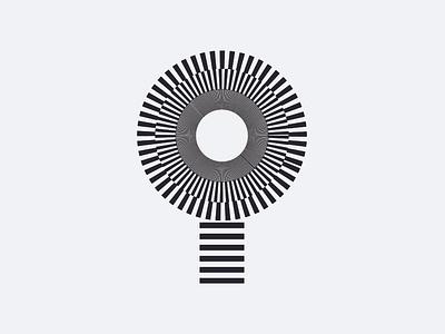 Letter i lines circles i lowercase lettering i letter