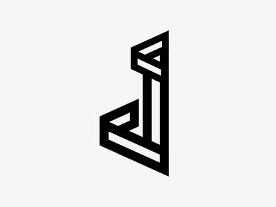 Letter J bold letter j