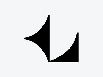 Letter L geometric shapes l uppercase symbol letter