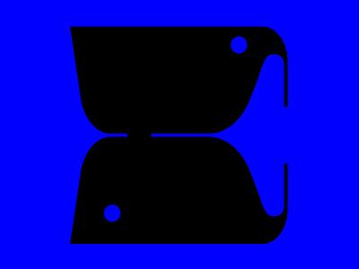 C letter + fish + bird logotype 36dot fishmark birdmark typogaphy typo letterc cletter bold boldtypography boldfont illustration 36daysoftype letters typeinspire typeinspiration