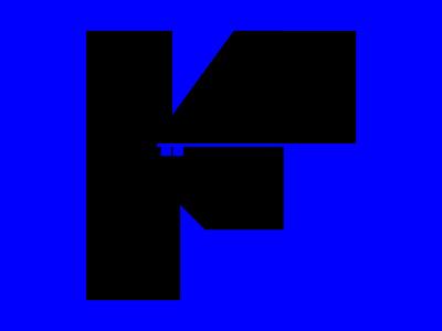 F letter + key keyicon keymark negativespacelogo typeinspiration typeinspire illustration boldtypography bold font logo 36dot 36dayoftype negativespace logotype