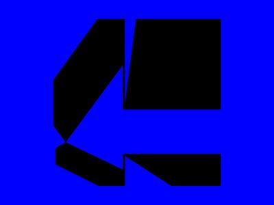 G letter + arrow boldmark mark logotype boldfont bold 36daysotftypes 36dot typeinspiration type negativespacelogo negativespace gletter gmark arrowmark arrowicon
