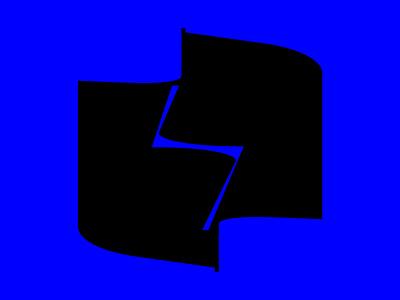 O letter + bolt bolt boltmark omark oletter boldtypography negativespace typeinspire letter letters 36daysoftype typeinspiration boldfont 36dot bold logo